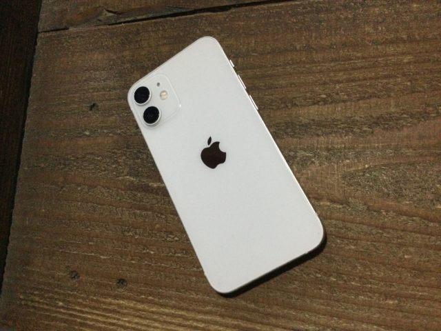 iPhone 12 mini(128GB)ホワイト